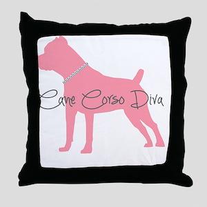 diamonddiva3 Throw Pillow