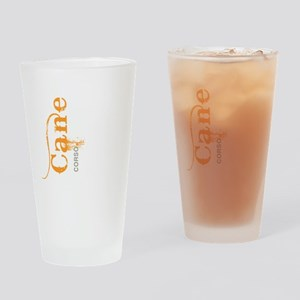 grungesilhouette2 Drinking Glass
