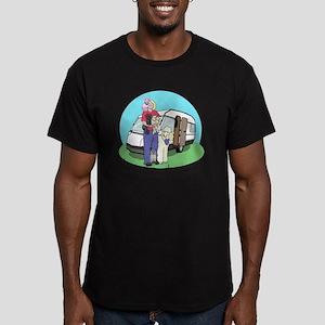Caravan copy Men's Fitted T-Shirt (dark)