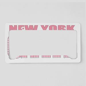NewYork License Plate Holder
