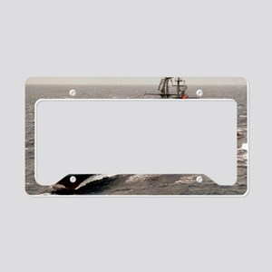scarolina dlgn large framed p License Plate Holder