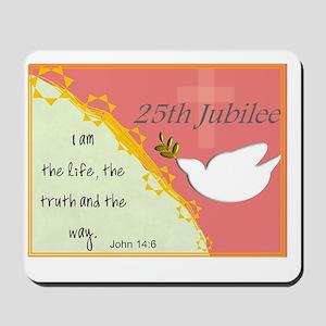 25th Jubilee Orange Mousepad