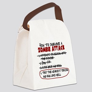 ZombieAttackSurvival Canvas Lunch Bag