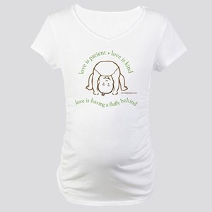 Fluffy Behind Maternity T-Shirt