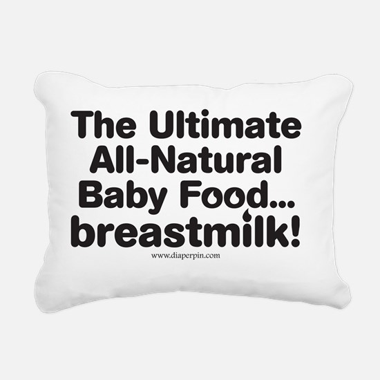 Ultimate Baby Food Rectangular Canvas Pillow