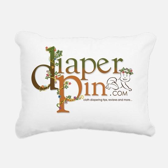 Diaper Pin Rectangular Canvas Pillow