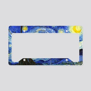 PillowCase VG Starry License Plate Holder
