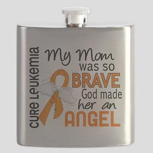 D Angel 2 Mom Leukemia Flask