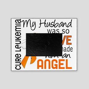 D Angel 2 Husband Leukemia Picture Frame