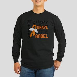 D Angel 2 Husband Leukemi Long Sleeve Dark T-Shirt