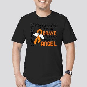 D Angel 2 Grandpa Leuk Men's Fitted T-Shirt (dark)