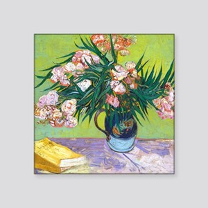 """Pillow VG Oleanders Square Sticker 3"""" x 3"""""""