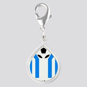 ARGENTINA 1978 Silver Teardrop Charm