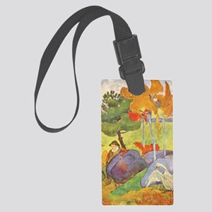Rural France, Gauguin Large Luggage Tag