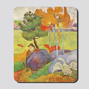 Rural France, Gauguin Mousepad