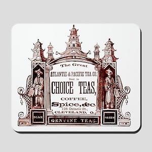 tea vintage image  Mousepad