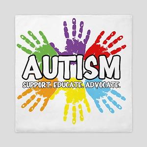 Autism Queen Duvet