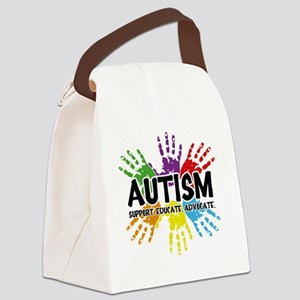 Autism Canvas Lunch Bag