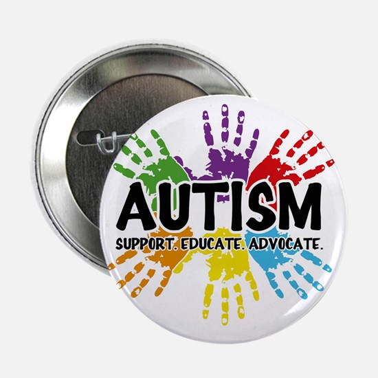 """Autism 2.25"""" Button"""