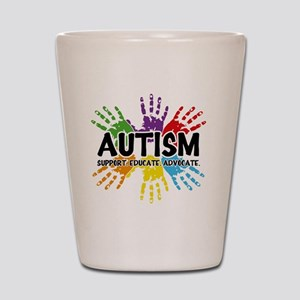 Autism Shot Glass
