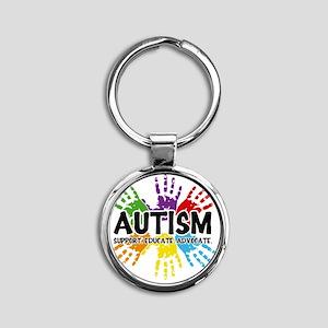 Autism Round Keychain