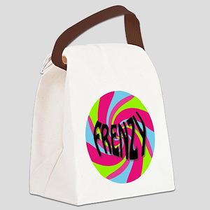 Frenzy_circle_t_shirt2 Canvas Lunch Bag