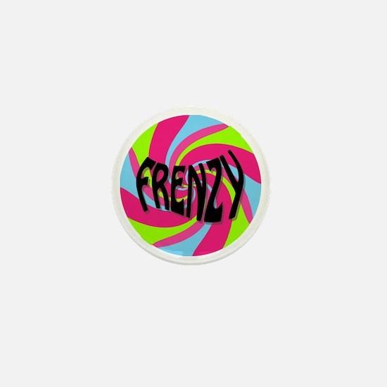 Frenzy_circle_t_shirt2 Mini Button