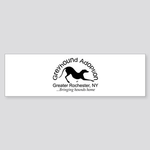 GAGR Black Logo Bumper Sticker