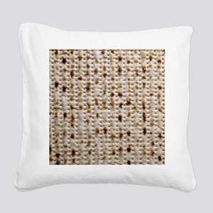 matzoh, 15MB, thong Square Canvas Pillow