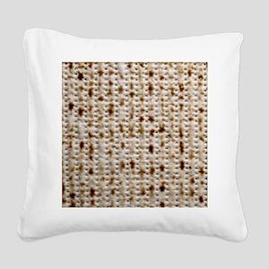 matzoh, thong, 2x Square Canvas Pillow