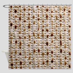 matzoh, thong, 2x Shower Curtain