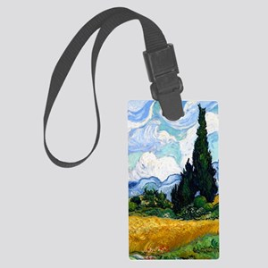 K/N VG Wheat Cyp Large Luggage Tag