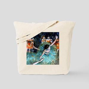 Pillow Degas GreenD Tote Bag