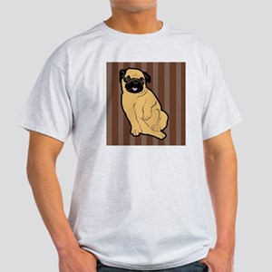 duvetQueenSweetiePug Light T-Shirt
