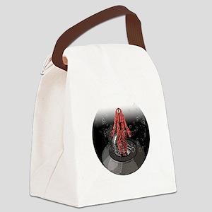submarine escape trainer Canvas Lunch Bag
