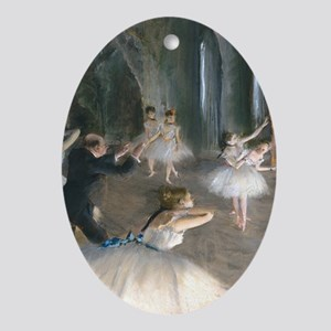 K/N Degas Onstage Oval Ornament