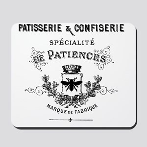 Patisserie-Sign Mousepad