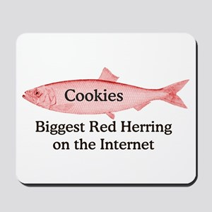 Cookies: Red Herring Mousepad