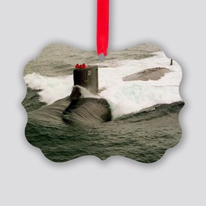 seawolf framed panel print Picture Ornament