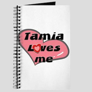 tamia loves me Journal