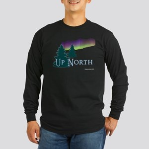 Up North Long Sleeve Dark T-Shirt