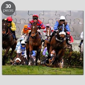 racing horses Puzzle