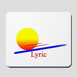 Lyric Mousepad