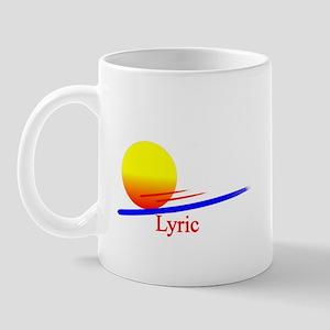 Lyric Mug