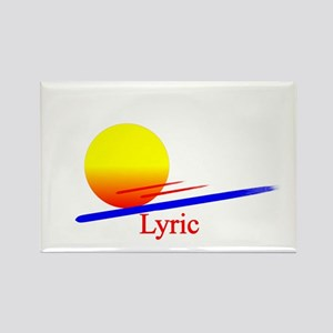Lyric Rectangle Magnet