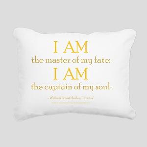 Master Of My Fate dark a Rectangular Canvas Pillow