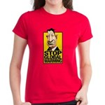 Stop Global Warming Women's Dark T-Shirt