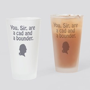 ye olde - cad and bounder Drinking Glass