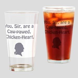 ye olde - chicken heart Drinking Glass