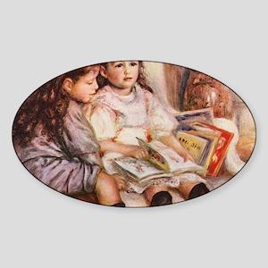 Renoir Sticker (Oval)